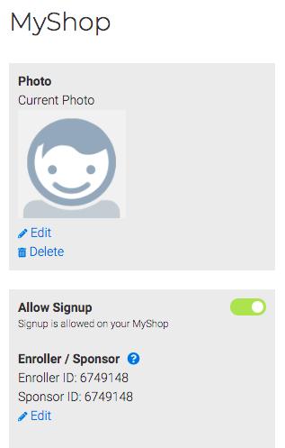 4Life Sponsor ID Enroller ID